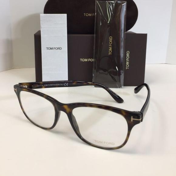 af1f34b8a7b Tom Ford Tf5399 052 Unisex Havana Plastic Eyeglass